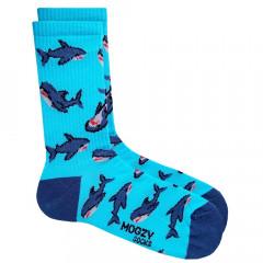 Носки Mogzy Акулы Blue